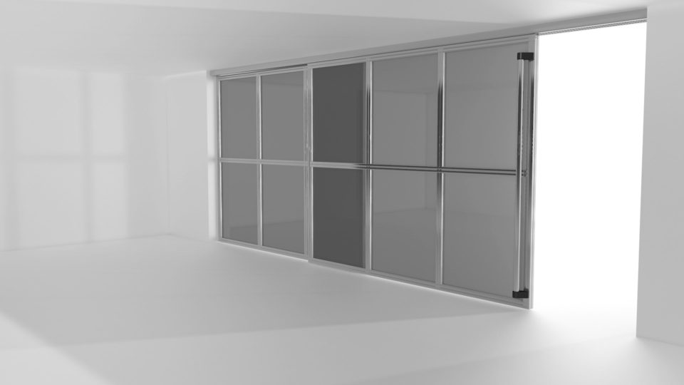 pareti mobili su misura