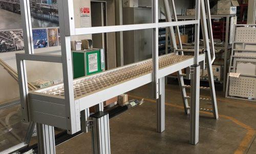 scala in alluminio strutturale