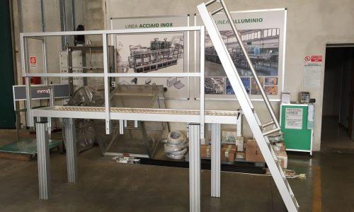 scala in alluminio strutturale due effe strutture